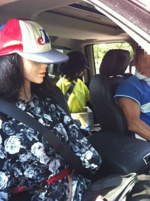 Two mannequins in car of man ticketed for HOV lane violation