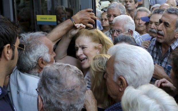 Greece crisis eurozone pensioners