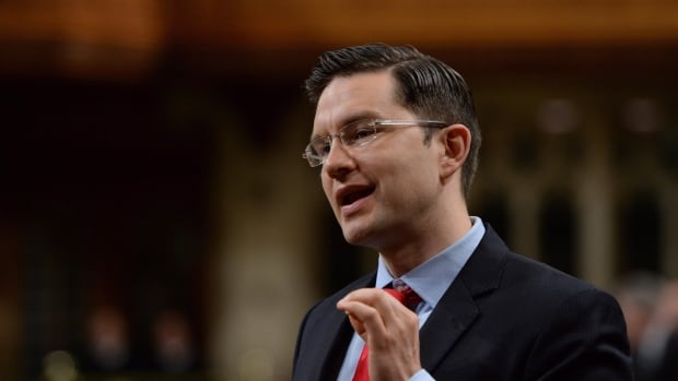 Pierre Poilievre, Minister of Employment and Social Development, has been touring the country touting the government's new child-care payments.