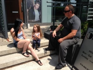 Toronto CityPlace families