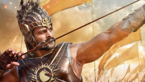 Noted movie star Prabhas appears in the South Indian historical fantasy epic Baahubali as the title character, a warrior battling his brother for power.