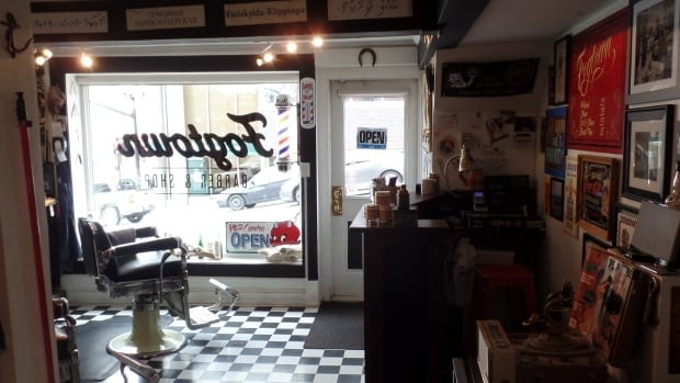 Barber & Shop is based near the bottom of Prescott Street in downtown ...