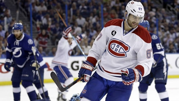 Canadiens left-winger Max Pacioretty won't need surgery for an off-ice injury, but he is expected to miss most or all of training camp in September. The 26-year-old led the team with 37 goals and a career-high 67 points this past season.