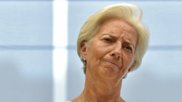 The pace of growth in the global economy will be 'disappointing' next year, IMF chief Christine Lagarde says.