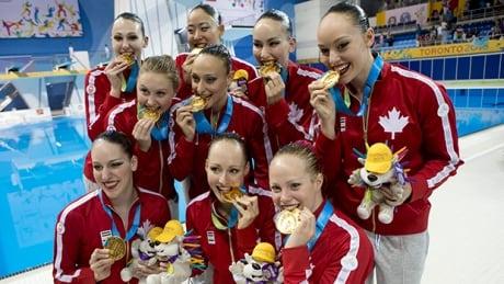 Canada women's synchro team