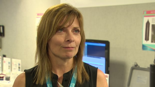 Denise King with VEMCO says the company has developed passive acoustic receivers that can collect data underwater for a year or more.