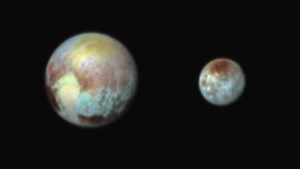 Pluto and Charon