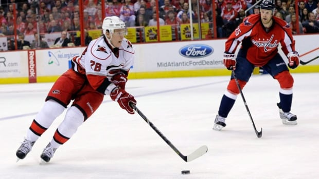Alexander Semin, left, is coming off the worst offensive season of his NHL career.