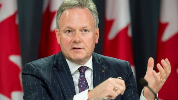 Bank of Canada Governor Stephen Poloz responds to a question on the banks interest rate cut decision during a news conference in Ottawa, Wednesday July 15, 2015. (Photo: THE CANADIAN PRESS/Adrian Wyld)