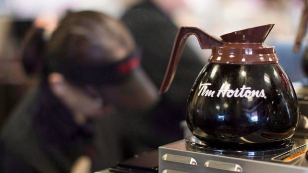 Tim Hortons has offered voluntary buyouts to about 15 per cent of its corporate staff.