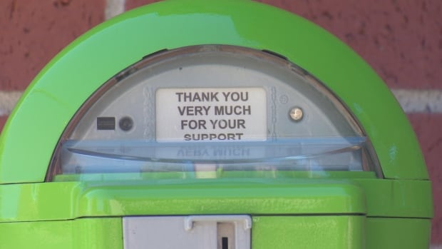Six so-called kindness meters have been installed in downtown Fredericton.