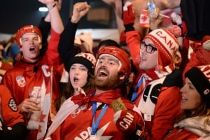 Canada sports fans