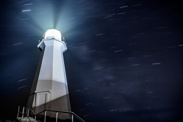 Lighthouse by  Jim Desautels