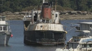 Derelict Viki Lyne II to be removed from Ladysmith Harbour