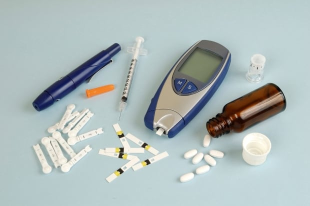 Diabetic supplies used by patients