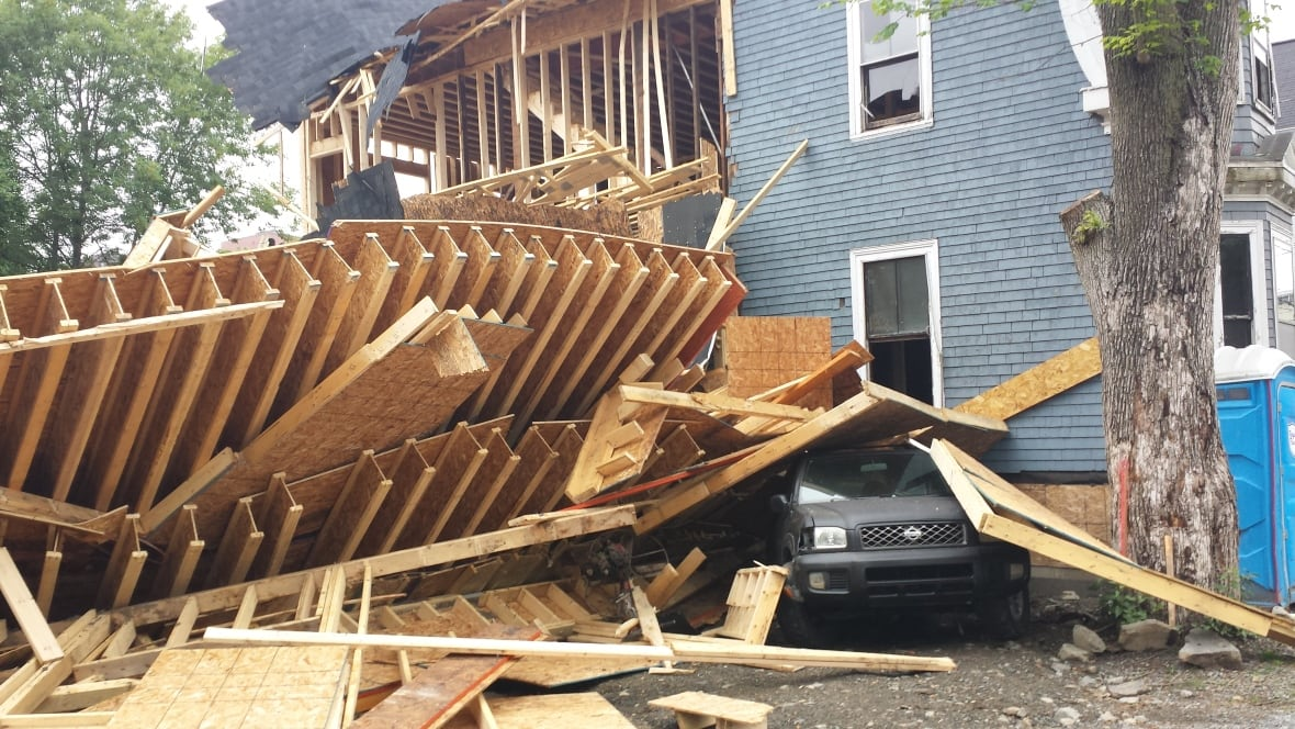 Halifax Construction Collapse Site On Lucknow Street To Be