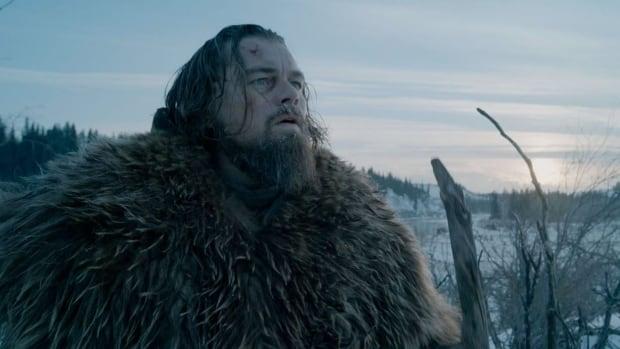 Leonardo DiCaprio stars as Hugh Glass in Alberta-shot film The Revenant.