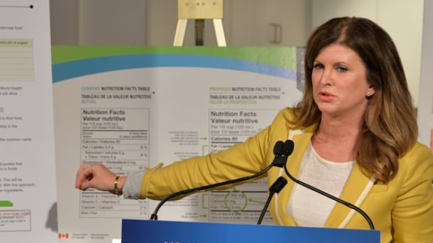 Health Minister Rona Ambrose announced proposed changes to nutrition labels in mid-June after a consultation period held the year prior.