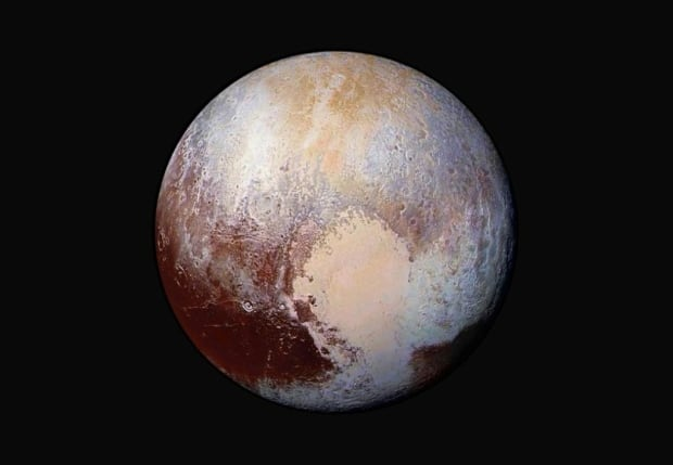 Pluto portrait