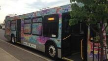 Art bus exterior