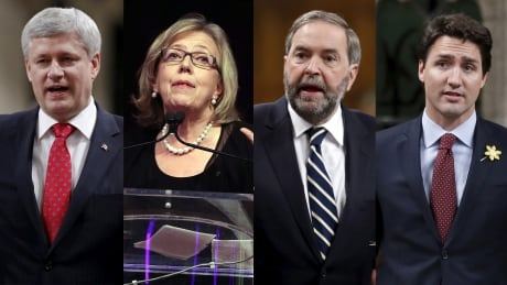 Federal leaders composite 2015