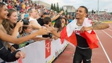 Andre De Grasse our pick for Canadian athlete of the Pan Am Games