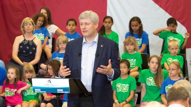 It is up to Prime Minister Stephen Harper, seen making an announcement in Pickering, Ont. earlier this month, to decide when to kick off the election campaign.