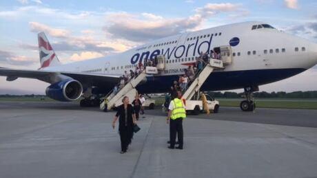 British Airways Flight BA274