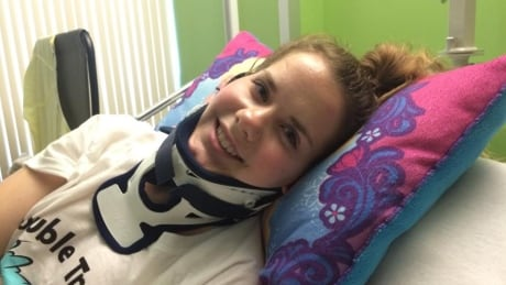 'I'm a pretty tough person,' says Hudson jogger Tina Adams who was struck by driver