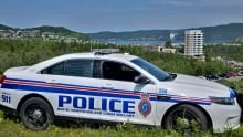 Corner Brook police cruiser
