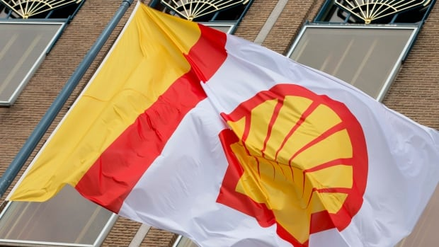 A flag bearing the company logo of Royal Dutch Shell, flies outside the head office in The Hague, Netherlands. It wants to push ahead with a merger with BG, even in the face of very low oil prices.