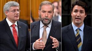 Poll Tracker: Harper, Mulcair in close race as campaign set to begin