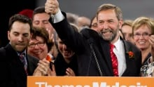 NDP Leader Tom Mulcair target of new Conservative attack ads