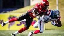 Stampeders rally from early deficit to defeat Alouettes