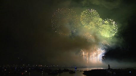 Team Canada wins 2015 Celebration of Light in Vancouver