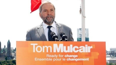 Thomas Mulcair election campaign 2015