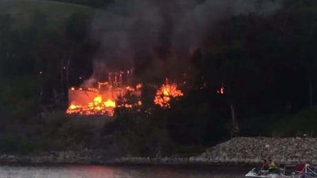 Fire destroys home on Crooked Lake, Sask.