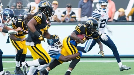 Ticats down Argos to remain unbeaten at new home