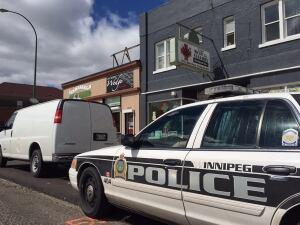 Police at medical marijuana dispensary in Winnipeg