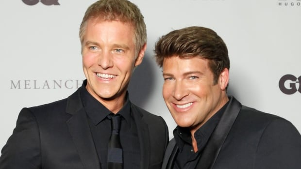 Steven Sabados and Chris Hyndman were partners onscreen and off for more than 25 years.