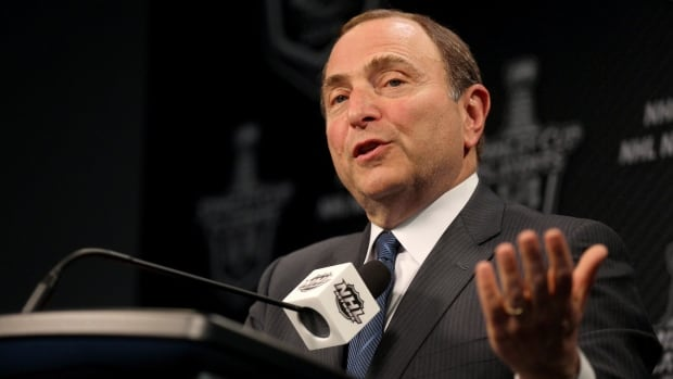 NHL Commissioner Gary Bettman says the Flames 'long-term stability will be threatened' if they continue to play in the oldest arena in the league.