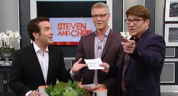 Rick Mercer on Steven and Chris