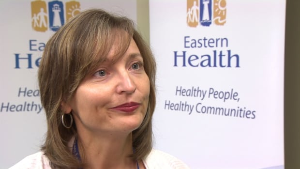Eastern Health's Debbie Molloy apologizes for any stress the health authority has caused its employees.