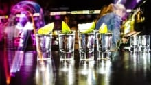 Binge drinking alcohol bar tequila