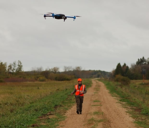 Drone Mark Ditmer