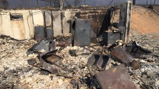 The Rock Creek fire has destroyed 30 homes since it began on Thursday.
