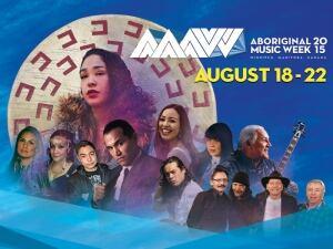 Aboriginal Music Week poster