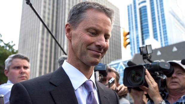 Judge Charles Vaillancourt portrayed Duffy as an unwilling partner in a scheme to accept a $90,000 cheque from Harper's former chief of staff Nigel Wright to cover questionable expenses, even though they were likely legitimate. (Justin Tang/Canadian Press)