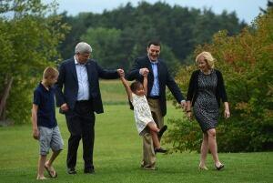 Stephen Harper adopting kids tax credit