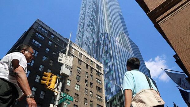 Broadway skycrapers
